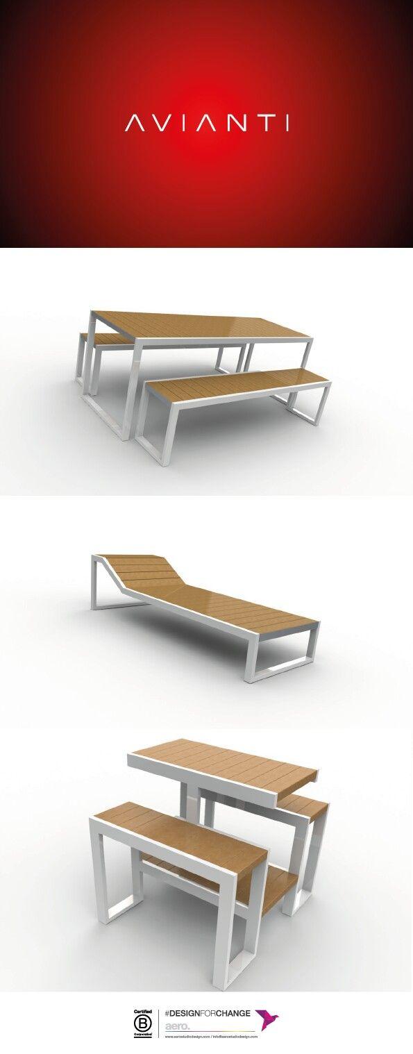 Desarrollo industrial para la fabrica de muebles sustentables AVIANTI