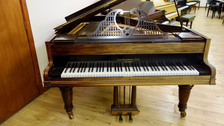 John Broadwood and Sons Baby Grand Piano | Handel Pianos