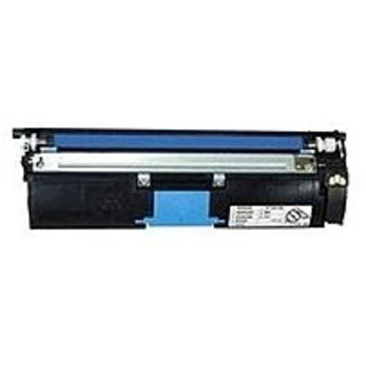 Konica Minolta 1710587-003 Toner Cartridge for Magicolor 2400W, 2430DL Printers - 1500 Pages - Cyan