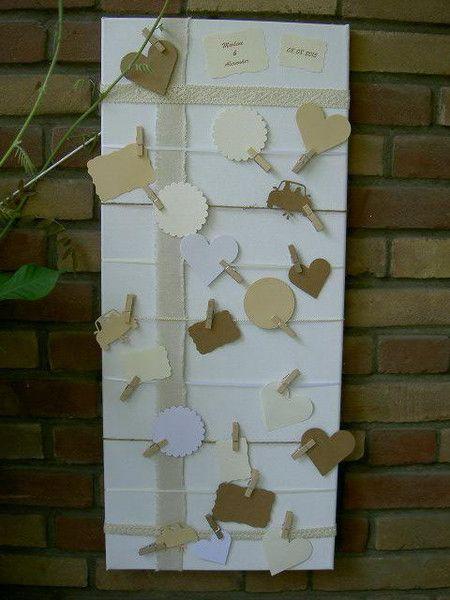 Hochzeitsgästebuch - ❤️ Gästebuch / Wunschbaum mal anders... - ein Designerstück von Okie-dokie bei DaWanda