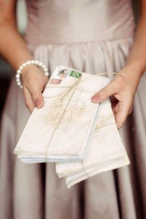 .Calligraphy Envelope, Hands Written, Wedding Ideas, Old Letters, Envelopes Address, Wedding Invitations, Vintage Romance, Time Savers, Snails Mail