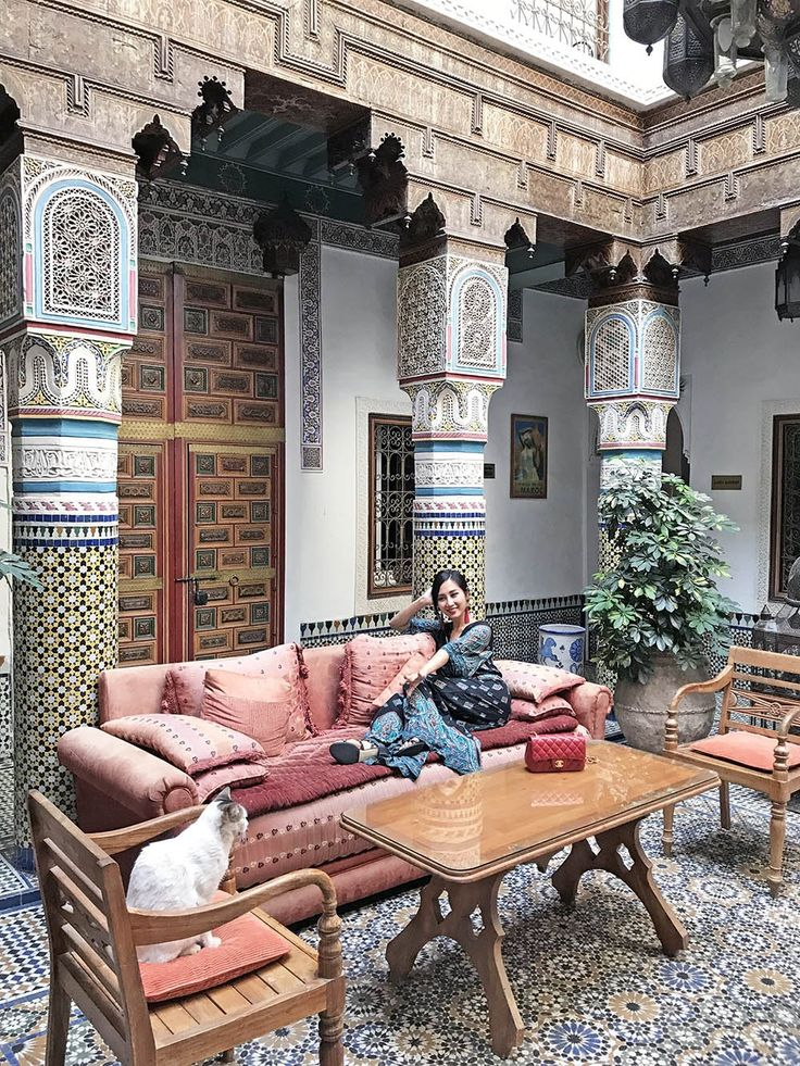 Tina Travels: Riad Palais Sebban (Review) - An Oasis next to Jemaa el-Fna | Of Leather and Lace