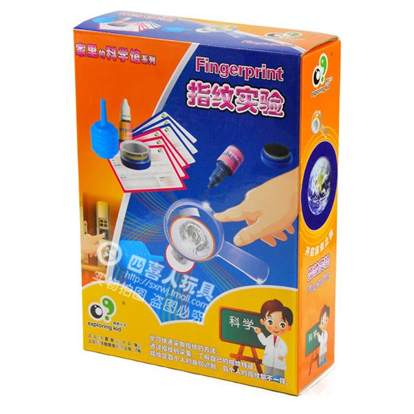 educational toys for children popular science model toys fingerprint science experiment ek-d015  http://playertronics.com/products/educational-toys-for-children-popular-science-model-toys-fingerprint-science-experiment-ek-d015-2/
