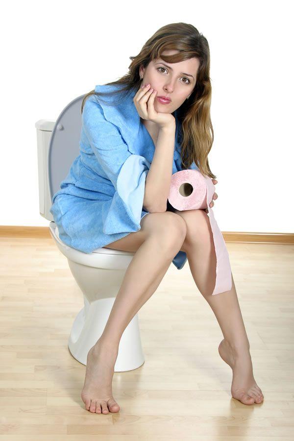 фото женщина на туалете для рабочего