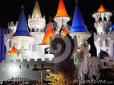 The Disney hotel at Las Vegas.