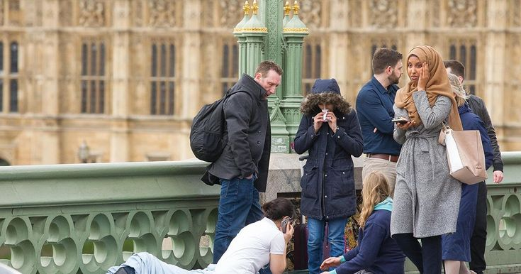 True Story Of A Muslim Girl Who Was Caught On Cam As Casually Passing A Victim on Westminster bridge