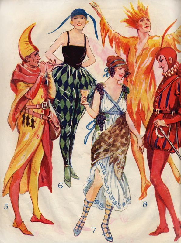 Click through! Image to a whole blog post about fancy dress from the 1920's!