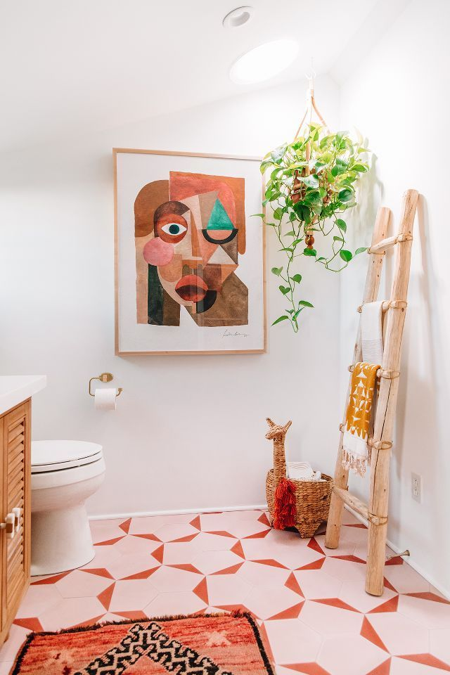 Prepare Your Retinas—This Striking Master Bathroom Makeover Is Eye-Popping