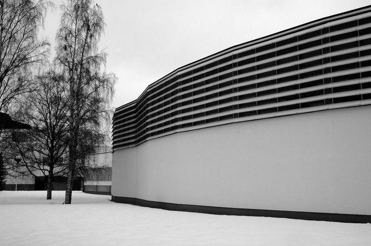 Library, Seinäjoki, designed by Alvar Aalto (1898-1976)
