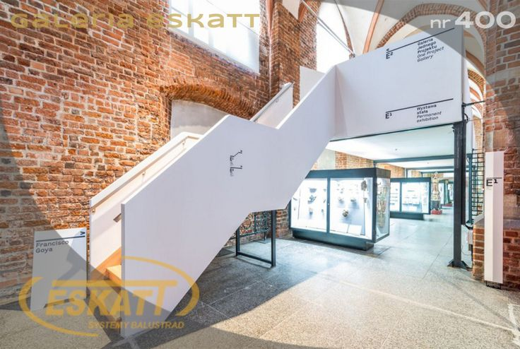 Stairs with stainless steel handrails #handrail #eskatt #construction #stairs