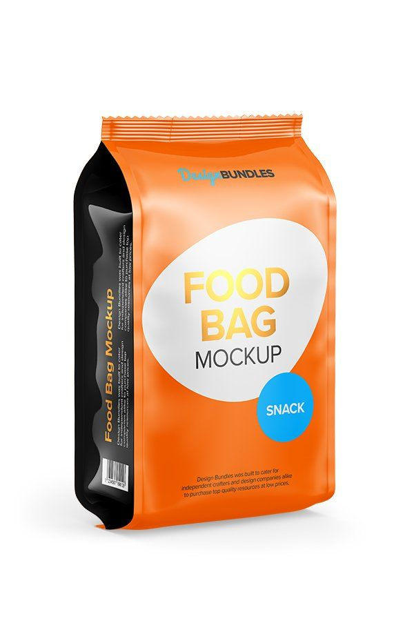 Download Food Bag Psd Mockup Coffee Cookies Pack Package Powder Snack Bag Mockup Templates Free Design Mockup