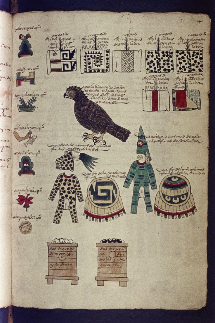 codex-mendoza-aztek-18 - La boite verte