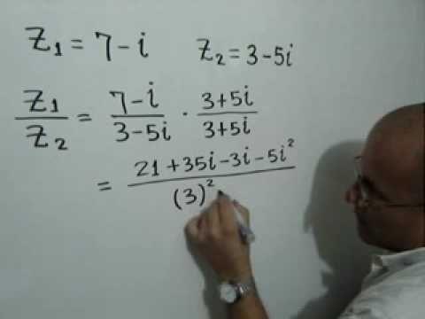 Multiplicación y División de Números Complejos: Julio Rios explica la multiplicación y división de números complejos
