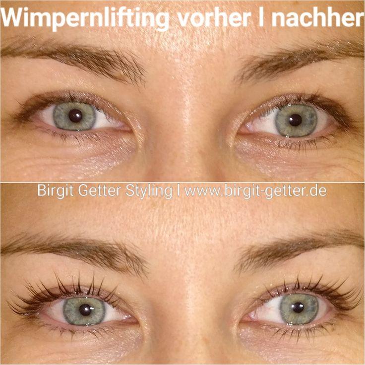 Wimpernlifting vorher l nachher 👁️ #wimpernverlängerung #wimpernliting  #wimpernwelle #wimpernlift #niceeyes www.birgit-getter.de l info@birgit-getter.de