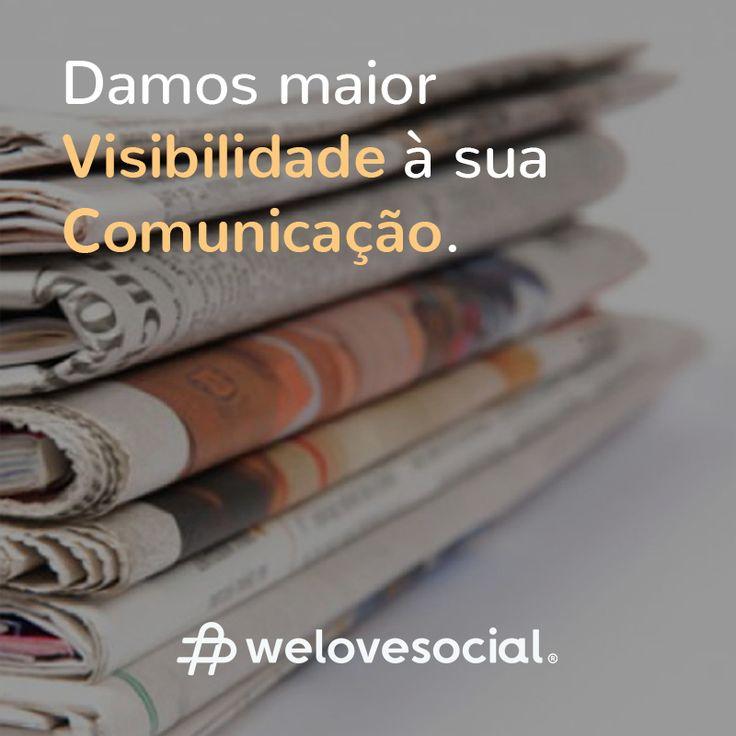 Assumimos um compromisso total para com a comunicação da sua marca, de forma a que possa obter o máximo de credibilidade junto ao seu público, no online & no offline.     Saiba mais sobre os serviços da We Love Social em www.welovesocial.pt