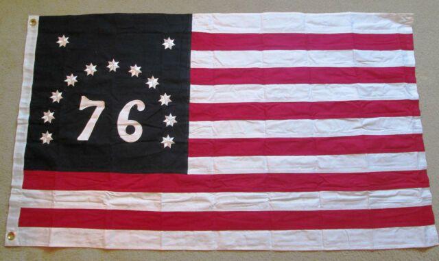 Sewn Cotton 1776 American Revolution Flag Bennington Flag Of Vermont 76 Flag Patriotic Pictures Flag War Flag