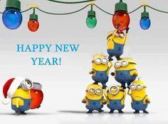Minions Happy New Year .
