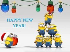 Minions Happy New Year .                                                                                                                                                                                 More