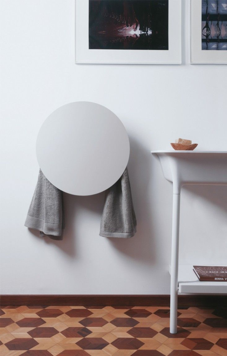 Towel Warmer Technology | Remodelista :   Forget about the towel warmer ... LOVE the floor!