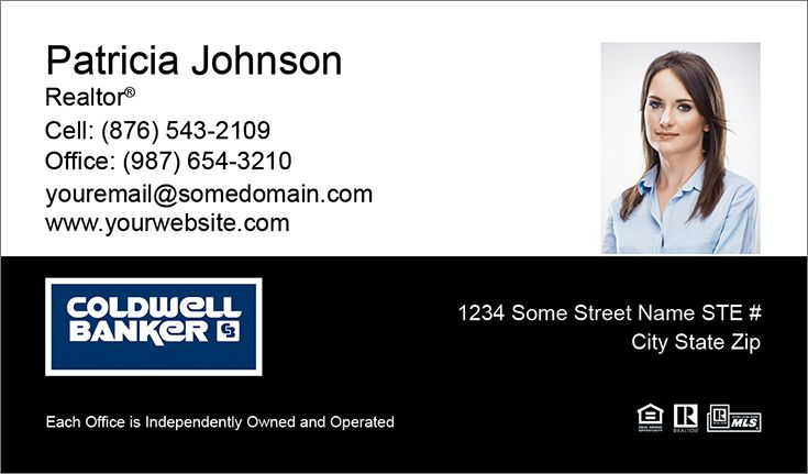 Coldwell Banker Business Cards Canada