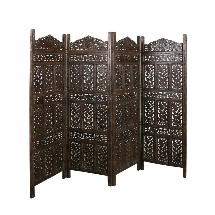 Versatile decorative screens use as a room divider a for Painted screens room dividers