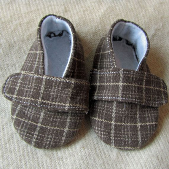Baby Boy Shoes sewing pattern