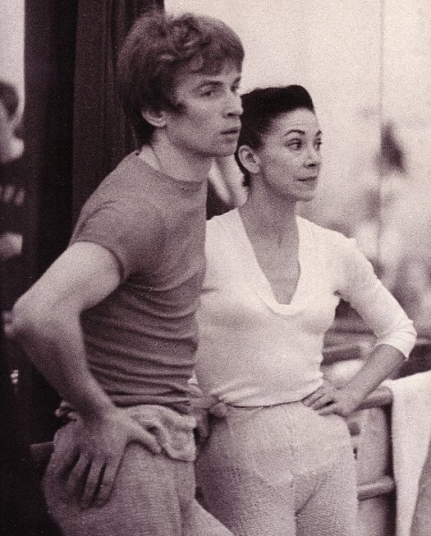 Rudolph Nureyev (with Margot Fonteyn) Nureyev ran into me - literally - running to the Civic Center while in Atlanta, years ago... story later