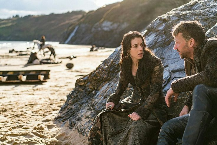 Reign, season 3, episode 16, Clans . Queen Mary and Narcisse.