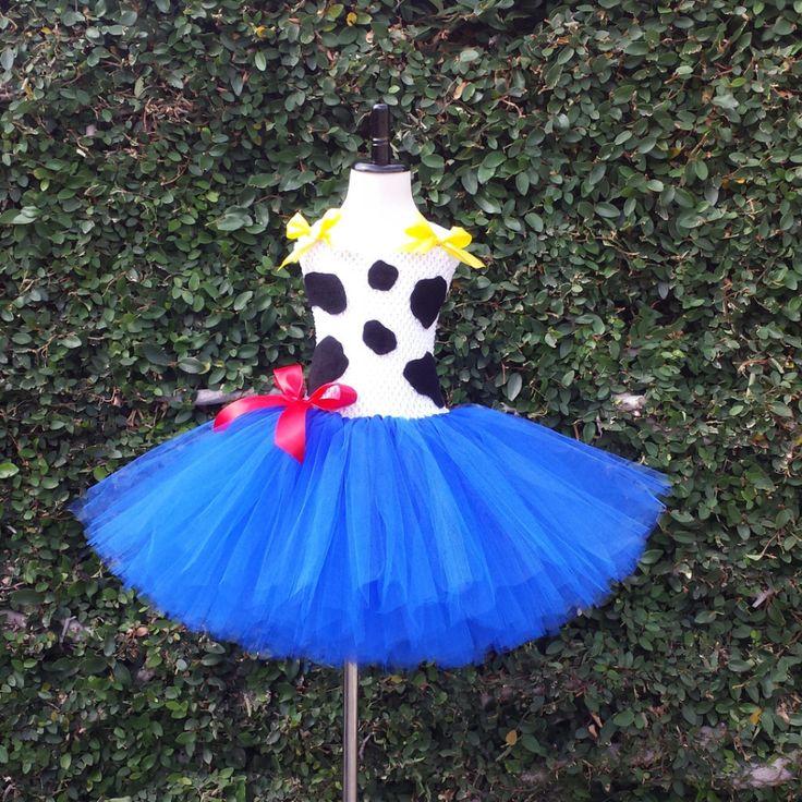 Jessie Toy Story Inspired Tutu Dress