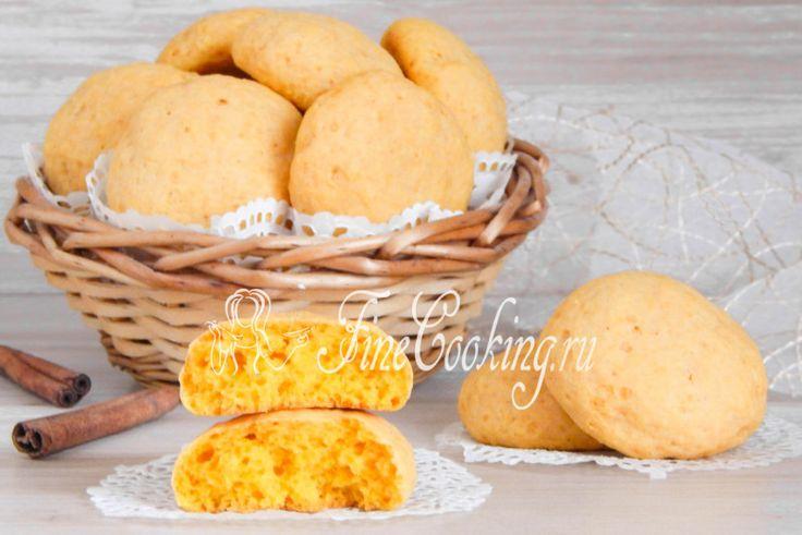 Рецепт простого и вкусного домашнего печенья, которое при желании можно даже назвать булочками.