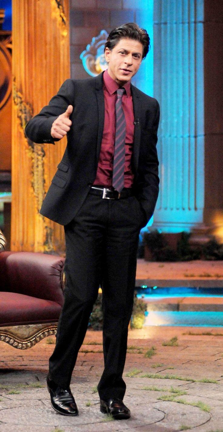 """Shah Rukh Khan on TV show """"...Kucch Bhi Ho Sakta Hai""""."""