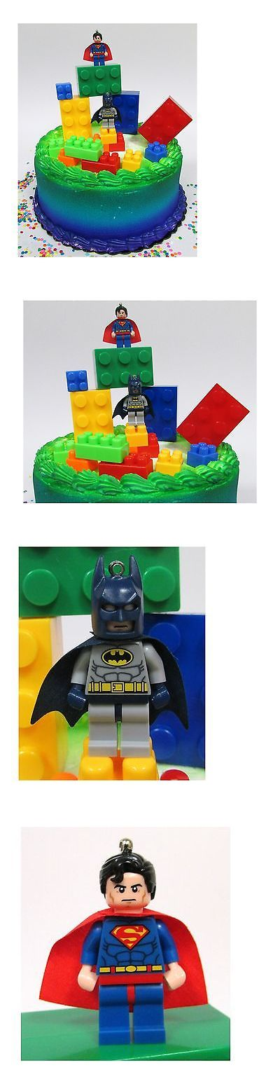 Cake Toppers 170165: Super Hero Lego Batman Birthday Cake Topper Set Featuring Figures And ... No Tax -> BUY IT NOW ONLY: $33.42 on eBay!