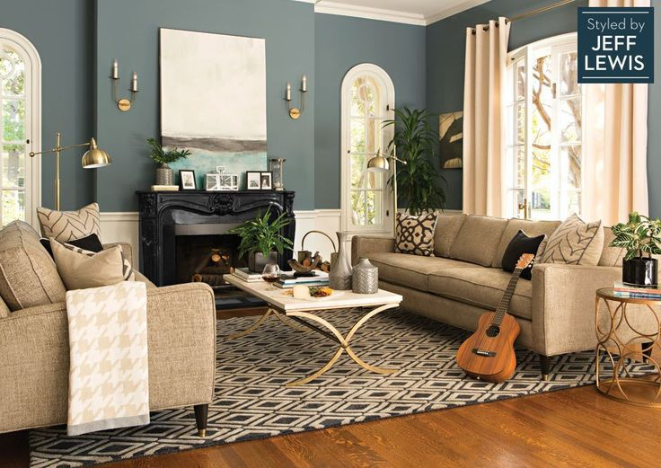Formal Room inspiration Living Spaces Shine Styled by Jeff Lewis For the home Pinterest