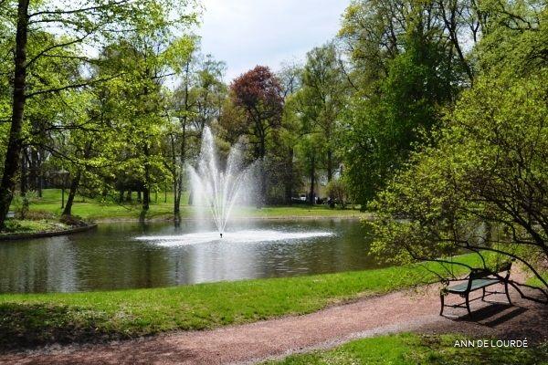 Dronningparken, Spring 2013, Slottsparken, Oslo, Norge.