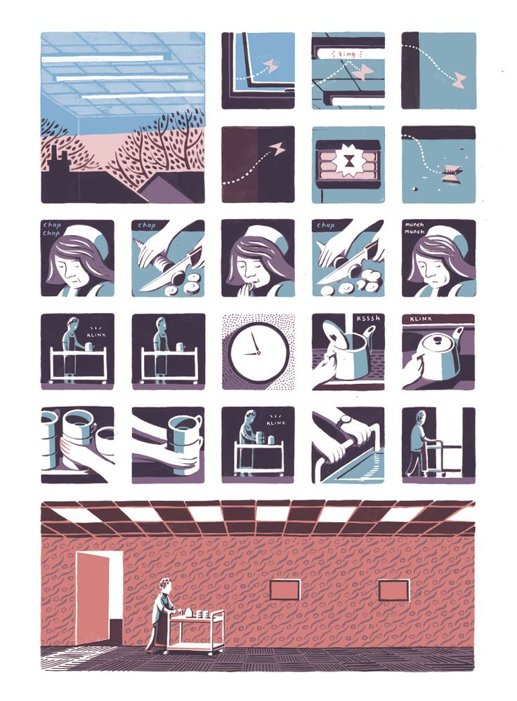 Jon McNaught - simply beautiful art coupled with siple but captivating story telling.