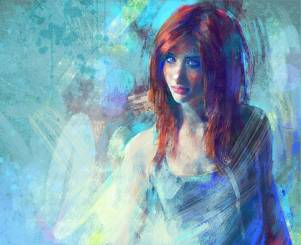 Marta de Andres is a Spanish specialized in digital paintings, she is a professional digital artist from Spain