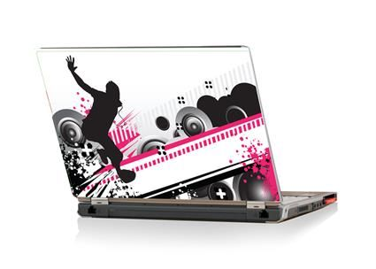 13inch Processed Beats Laptop Skin