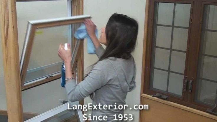 How to Operate and Clean a Lang Double Hung Window #langexterior #replacementwindows #vinylwindows #doublehungwindows #howto #operate #windows #windowcleaner #cleaning #maintenance #tips #video #tutorial