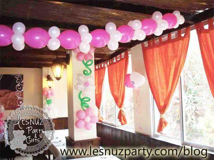 Guirnalda de globos - Balloon garland