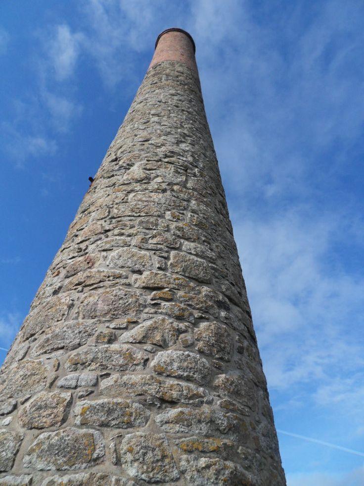 Chimney from Lelant tin mine