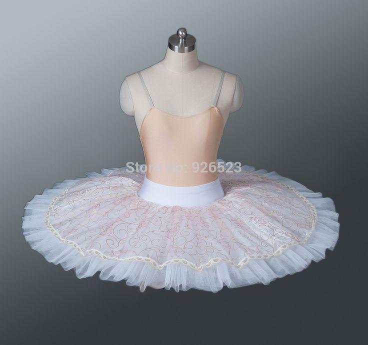 Adult Pancake Ballet Tutu Skirts Practice Skirt Half Tutus For Children BT705