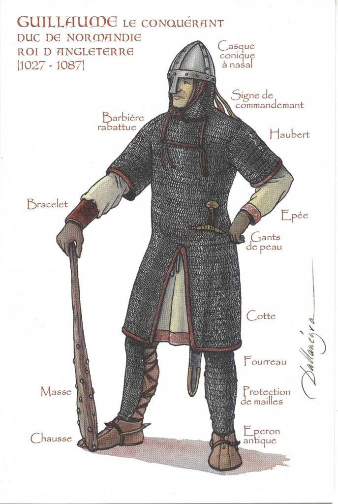 William the Conqueror, Guillaume le Conquérant, Willhelm der Eroberer