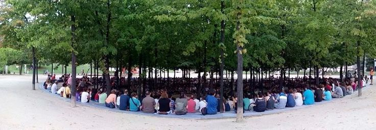 Parking Shakespeare Company! Open Air Theatre at #Parcdel'estaciodelNord #BarcelonaInspiresMe #wefindyourplace