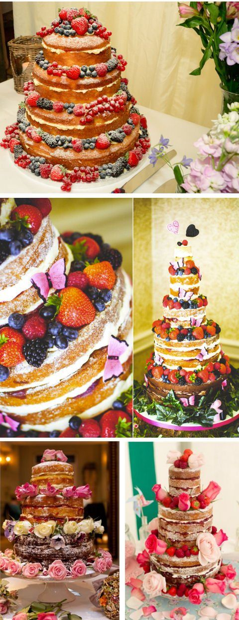 Go Naked! Naked wedding cake blog featured on hitched.co.uk