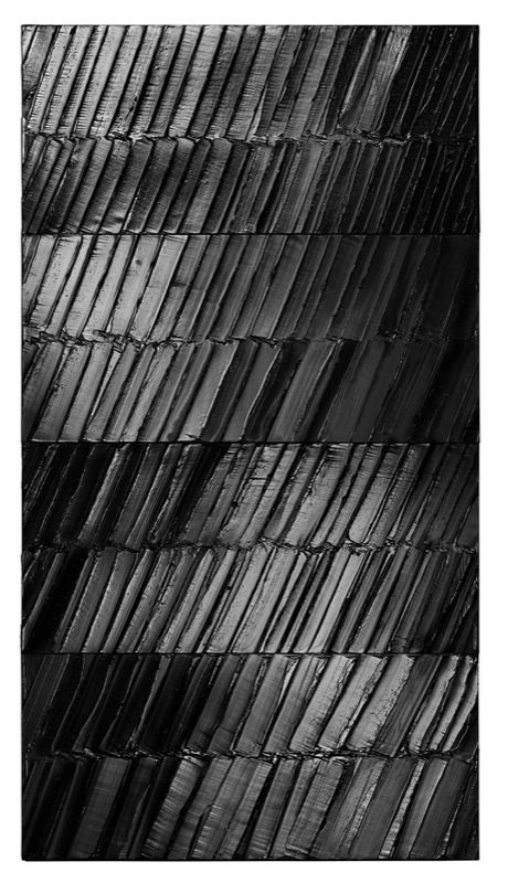 Pierre Soulages, 2014 Courtesy of the artist & Galerie Perrotin