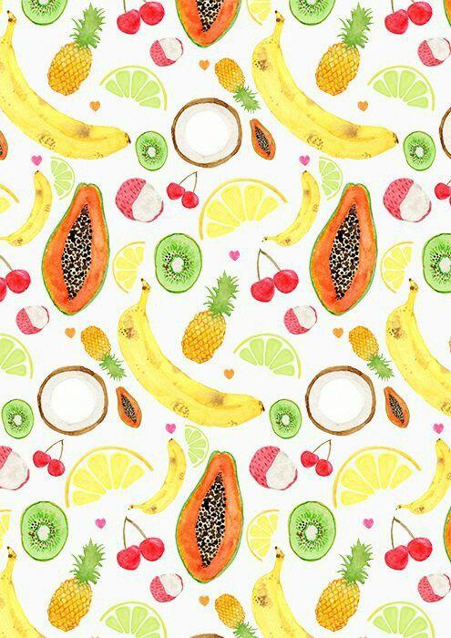 Обои фрукты