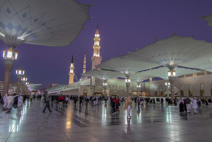 Beautiful of #Madinah in the early morning