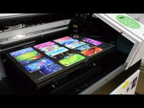 Mimaki GP-1810D T Shirt printer - YouTube