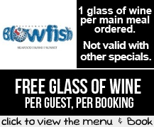 Booking Coupon - Blowfish, Cape Town