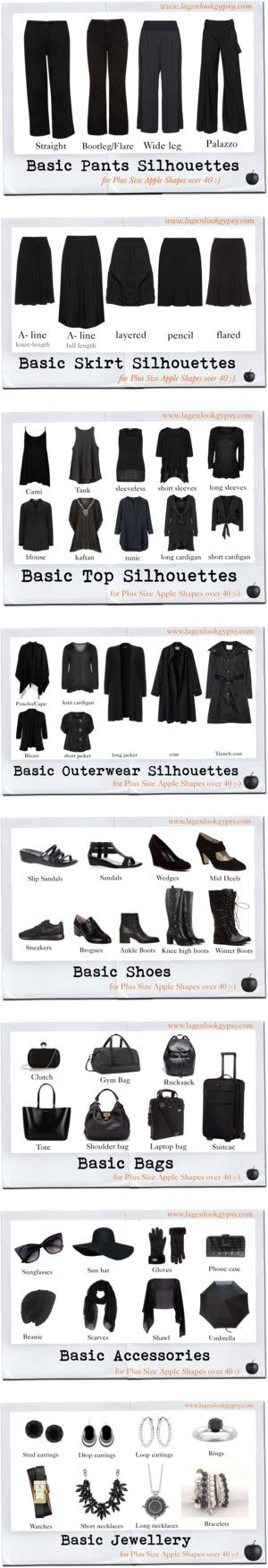 Plus Size over 40 Basic Capsule Wardrobe by mindeja on Polyvore featuring A.F. Vandevorst, CB2, M&Co, La Stampa, Isolde Roth, Doris Streich, Open End, Champagne, Zhenzi and WearAll
